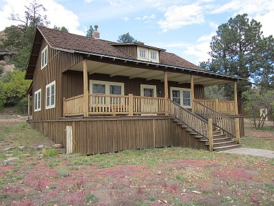 Aldo Leopold cabin in Tres Piedras, NM