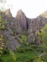 Black Canyon of the Gunnison National Park - East Portal Spires