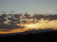 Colorado National Monument - Sunrise over the Bookcliffs