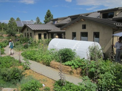 Kitchen Garden & Coop Tour 2014 - San Isidro Permaculture Hoop House and Solar PV