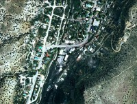 Madrid, NM - Aerial view of Gob Piles