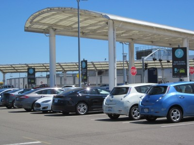 OAK Airport - Electric Car Charging Stations
