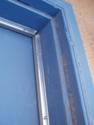 Exterior door weather seal
