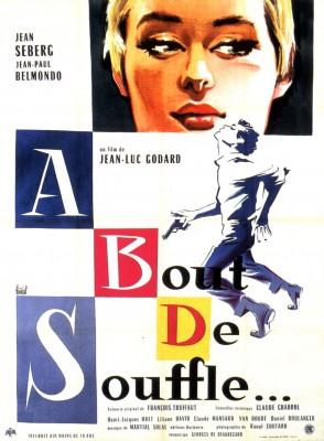 Breathless movie poster