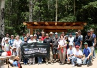 IMBA Trailbuilding School in the Santa Fe National Forest