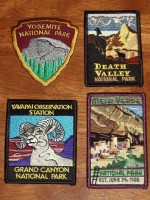 National Parks patches