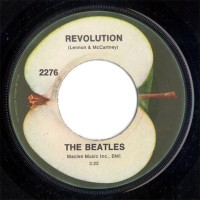 Revolution 45rpm label