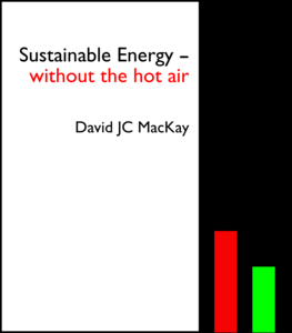 Sustainable Energy - Without The Hot Air, book cover